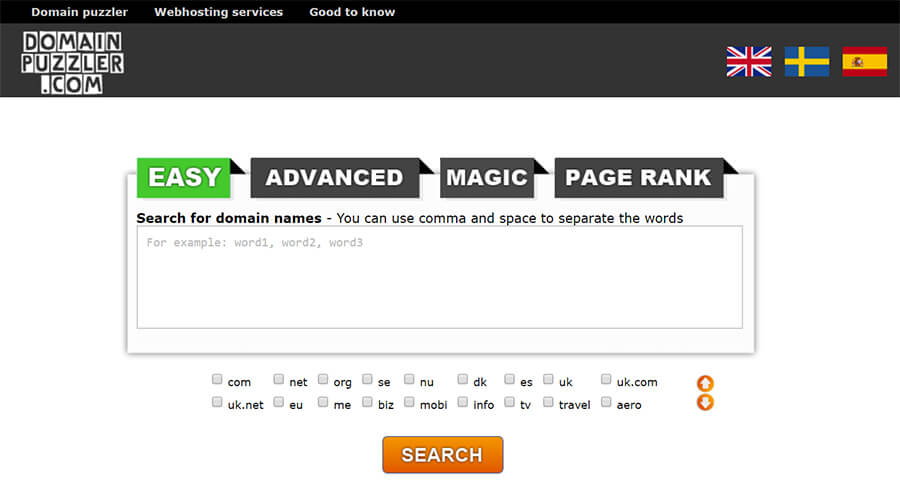 Domain Puzzler