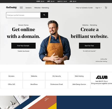 GoDaddy.com website