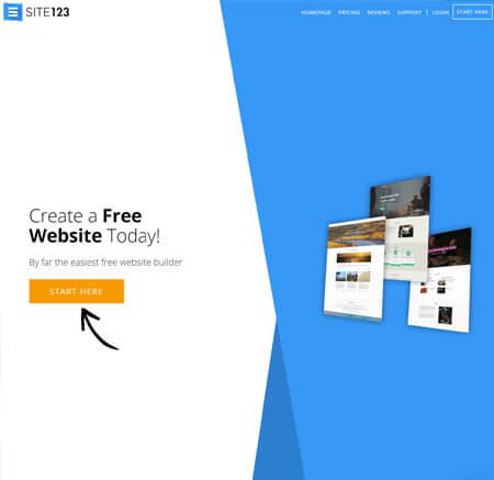 SITE123.com website