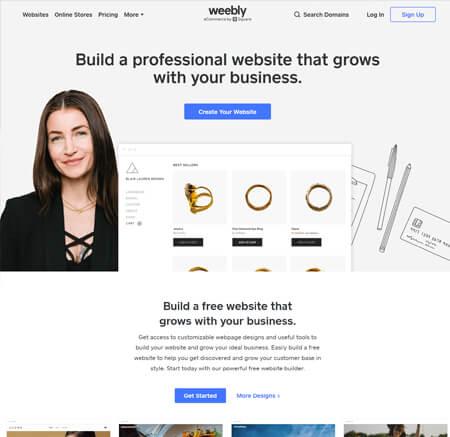 Weebly.com website