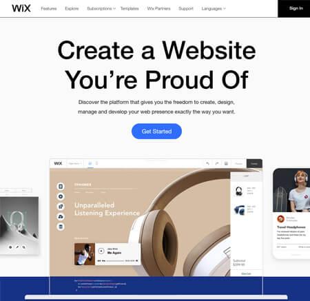 Wix.com website